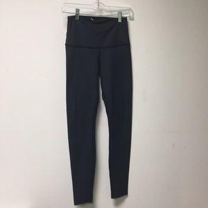 Lululemon navy leggings size 6. 56664